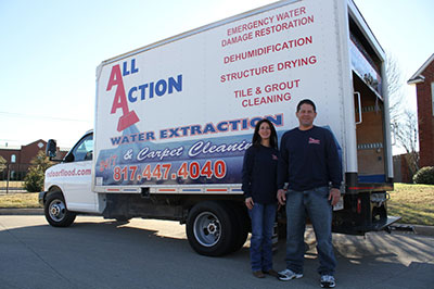 Contact Us - All Action Water Extraction & Carpet Cleaning in Burleson, Texas